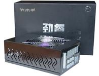 大水牛电源|劲睿PE1000HAA 定功率:800W; SATA电源接口:10个; 大4Pin电源接口:8个;小4Pin电源接口:1个
