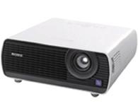 "SONY VPL-EX100  3LCD系统,有效的显示尺寸:0.63""(16.0毫米)x3,纵横比:4:3, 像素:2,359,296(1024x768x3)像素"