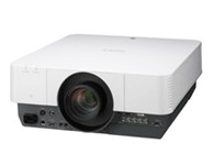 "SONY VPL-F700XL  3LCD系统, 有效的显示尺寸:0.99""(25.0毫米)x3,BrightEra 无机液晶板,横纵比:4:3,有效像素:2,359,296(1024x768x3)像素"