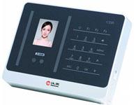 汉王C220 产品类型:人脸识别考勤机 存储量:用户容量:200人记录其他特性:验证速度:<1秒(200个备注: