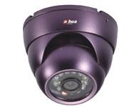 大華紅外防水彩色半球攝像機