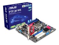 华硕P7F-M WS   服务器级的稳定 & 小尺寸规格的工作站 灵活的扩展选择 & 支持PCI-E Gen2 x16 (x16 link)