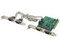 西霸 FG-PIO9845-4S PCI转RS-232串口扩展卡 (4S)