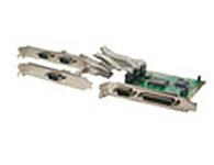 西霸 FG-PIO954-4S1P  PCI转串口 并口扩展卡 (4S1P)combo