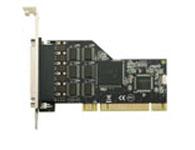 西霸 FG-PMIO-V5T-0006S-1 PCI转RS-232串口一分六扩展卡 (9865-6S)