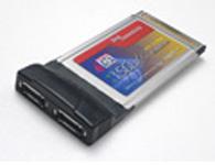 西霸 SD-C3512-2 PCMCIA笔记本eSATA扩展卡