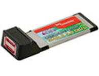 西霸 SD-XS3132-2 Express笔记本eSATA II扩展卡(2口)