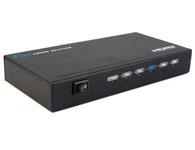朗强 LKV314 HDMI分配器一进四出(3D)
