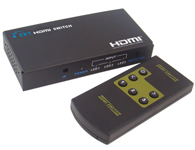 朗强 LKV331MINI HDMI切换器迷你版三进一出(3D)