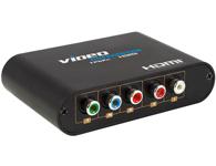 朗强 LKV354 YPbPr转HDMI转换器