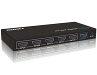 朗强 LKV501五进一出HDMI切换器3D