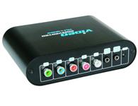 朗强 LKV2300 VGA转YPbPr 转换器