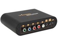朗强 LKV7600 YPbPr转VGA 转换器