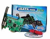 和鑫 转接卡 PCIE TO IDE SATA ESATA