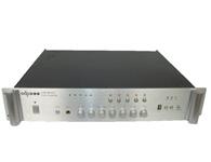 智乐普USB-MP250  二路话筒输入,三路输出,优先话筒有自动默音功能,便于紧急广播,叮咚提示音,高低音调整,故障声光指示过流,短路,零点飘移,延时功能,带U盘MP3播放器
