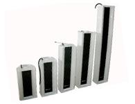智乐普 LD-250 铝合金外壳、内置扬声器单元 5寸 高宽厚=690*143*129mm