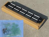 銳標豪華型免打線式50口語音配線架 (廠家質保15年)