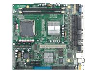 华北工控 POS-7853 高性能POS机专用主板  支持LGA775 Pentium-4 CPU及Core 2 Duo处理器 2个240 PIN双通道DIMM支持DDRⅡ400/533/667MHz内存,容量最大可达4G