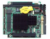 华北工控 PCMB-7682 低功耗PC/104工业主板  板载AMD LX 600/700/800/900(主频366/433/500/600MHz) 板载DDR 333MHz 256M系统内存