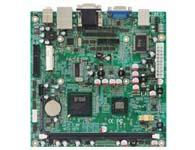 华北工控 MITX-6870 基于Intel Pineview-M/D的Mini-ITX嵌入式主板  基于Intel Pineview-M/D ICH8M芯片组, 板载Intel Atom N450/D410/D510处理器;