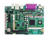华北工控 EMB-5872 板载Intel Atom D510处理器的5.25寸嵌入式主板  基于Intel Atom D510 ICH8M,处理器频率1.66G, 前端总线667MHz;