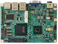 华北工控  EMB-3870 3.5寸嵌入式主板  基于Intel ICH8M, 板载Intel Atom N450处理器;1条200-Pin SO-DIMM插槽,支持DDRII 667MHz最大至2GB; 支持CRT LVDS或CRT TV-OUT显示输出,支持独立双显;