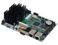 华北工控  EMB-3930 基于Intel Cedar Trail平台的3.5寸嵌入式主板  基于Intel NM10芯片组, 板载Intel Atom N2800/D2550处理器 支持VGA LVDS显示输出,支持独立双显