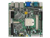 研华 AIMB-221 AMD 64 X2 双核处理器Mini ITX 母板,支持双显 / 双千兆网口/ 6串口