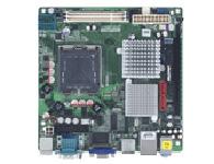 研华 AIMB-262 Intel LGA775 Core 2 Duo Mini-ITX带VGA, 4 COM和千兆网口