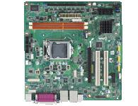 研华 AIMB-501 Intel Core i7/i5/i3LGA1155 MicroATX,支持CRT/DVI、10个COM、10个USB 2.0、双LAN和DDR3