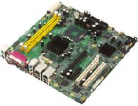 研华 AIMB-554 工业级 Micro ATX 主板,设计用于支持最新的带 400/533/667MHz FSB 的 Intel? Core? 2 Duo、Intel? Core? Duo、Intel? Core? Solo 处理器