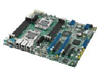 研华 ASMB-310IR 1366 插槽 双处理器 CEB服务器板卡,支持2个 PCIe x16 扩展插槽