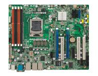 研华 ASMB-781 1155 插槽 单处理器 ATX服务器板卡,支持2 PCIe x16 扩展插槽