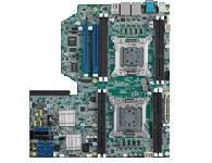 研华 ASMB-920IR 采用Intel Xeon 处理器 E5-2600系列技术 包括64-bit多核处理器、PCI Express Gen 3高速通信能力以及 DDR3 1600 registered 大容量内存