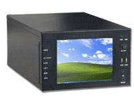 华北工控 EPC-208CD 7槽嵌入式8.4寸液晶显示机箱
