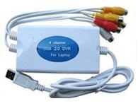 海視HS-USBD四路視頻采集卡