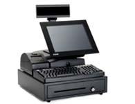 双喆收款机 顾客显示屏高亮度LED8位数码显示,12时LED背光显示器,显示收银软件前后台操作,并配有打印机