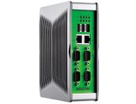 NISE 90 采用Intel® Atom™ E620 0.6GHz 处理器和 Intel® 平台控制 Hub EG20T, NISE 90 无风扇工业计算机低功耗仅为 15W,同时配备丰富的 I/O 接口,以满足工厂和工业自动化控制需求.