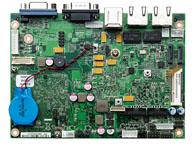 EBC 310X 支持宽温操作 支持Intel® E600 系列 超低功耗 SoC 板载 DDR2 1GB 主板 支持 VGA/ LVDS 图像显示 两个千兆以太网 支持 Video Decode (MPEG2, MPEG4, H.264, VC1, WMV9)/ Encode (MPEG4, H.264) One CAN Controller 3x COMs, 6x U
