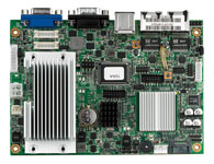 EBC 342 板载Intel® Atom™ N270 1.6 GHz CPU Intel® 945GSE/ICH7-M 芯片组 1个200-pin SODIMM 插槽,最大支持2 GB DDR2 400/533 MHz SDRAM 24-bit LVDs 双显,2-CH LVDS 5.1-CH 音频 1x CF, 1x mini-PCIe 1xSAT