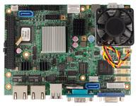 EBC 352 支持Intel® Atom™ Dual Core D525 处理器 支持 DDR3 SO-DIMM SDRAM, 可达 2GB 支持 VGA/ LVDS 18/ 24-bit Display Dual Intel 千兆以太网 支持 PCI 104, 1x Mini PCI Express 插槽 4 x COMs, 6 x USB 2.0 单个 D