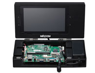 ACEK 3354-7P SMARC STD 1.0兼容 ARM® Cortex™ A8开发工具包 TI- AM3354,ARM® Cortex™ A8 720MHz,内置SGX530图形加速器 板载512MB DDR3,4GB eMMC和可启动SD 支持GbE、USB、USB-OTG、2UART、音频、DCAN、I2S、3x I2C和8 x G