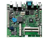 NEX 604 Intel® Atom™ D2550 双核处理器1.86GHz Intel® NM10 Express 芯片 双204-pins DDR3 SO-DIMMs ,最大支持4GB SDRAM内存 支持VGA/HDMI、VGA/LVDS 或者 HDMI/LVDS 双显 6x USB, 4x COM, 2x GbE, 2x SATA, 1x LPT