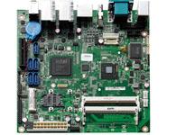 NEX 605 Intel® Atom™ D2550双核处理器 1.86GHz Intel® ICH10R 芯片,支持RAID 0/ 1/ 5/ 10 双 204-pins DDR3 SO-DIMMs 最大支持4GB SDRAM 内存 支持VGA/HDMI, VGA/LVDS 或者 HDMI/LVDS 双显 8x USB, 4x COM, 2x GbE (