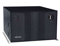 PBOX 362 Intel® GM45 + ICH9-M 芯片组 支持 Intel® Core™ 2 Duo / Celeron®-M 575 支持 2x 240-pin DDR3 可达8GB 1x PCIe X16 + 2x PCI 扩展槽 4x RS-232 接口 2x Intel® 82574L GbE接口