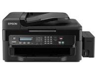 Epson爱普生 L551 墨仓式网络传真一体机 涵盖功能:打印/复印/扫描/传真 产品类型:墨仓式 最大处理幅面:A4 耗材类型:分体式墨盒 网络功能:有线网络打印 双面功能:手动
