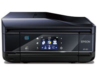 Epson爱普生XP-801 打印复印扫描传真 涵盖功能:打印/复印/扫描/传真 产品类型:喷墨多功能一体机 最大处理幅面:A4 耗材类型:一体式墨盒 彩色打印速度:32ppm 黑白打印速度:32ppm 打印分辨率:5760×1440dpi 复印速度:31cpm 网络功能:无线网络打印 双面功能:自动