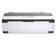 Epson爱普生 1100喷墨打印机 产品定位:商用打印机 最大打印幅面:A3+ 墨盒类型:分体式墨盒 墨盒数量:四色墨盒 最高分辨率:5760x1440dpi 进纸容量:120页 网络打印:不支持网络打印 打印内存:64KB 接口类型:USB2.0