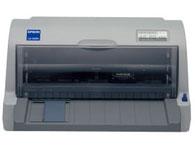 Epson爱普生LQ-630K票据经典型票据打印机 产品类型:票据针式打印机(平推式) 打印方式:击打式点阵打印 打印方向:双向逻辑查找 打印针数:24针 打印头寿命:4亿次/针