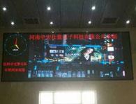 信阳车管所室内p5全彩LED显示屏